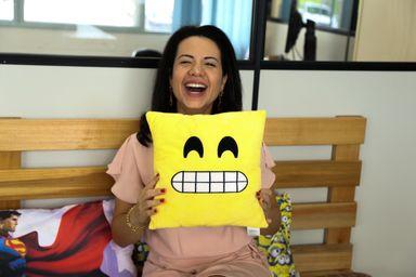Jéssica é cheia de personalidade e dona de um sorriso que é sua marca registrada. (Foto: Ladimara Teixeira)