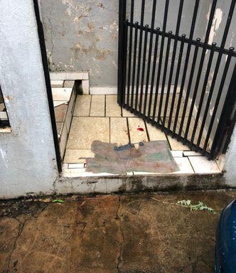 Local onde o crime aconteceu. (Foto: Portal Éder Luiz)