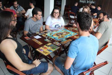 Evento inédito de Board Games é realizado em Joaçaba