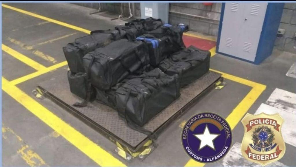 Drogas encontradas durante as investigações em Santa Catarina