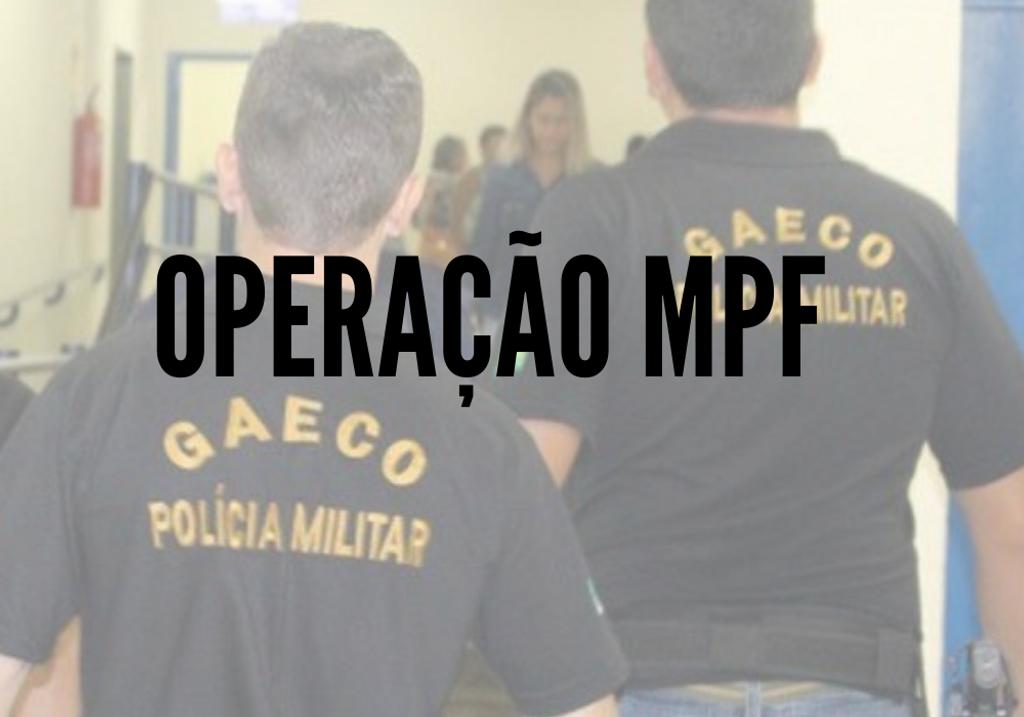 MPF deflagra operação que investiga fraude em licitação e peculato em três municípios da região