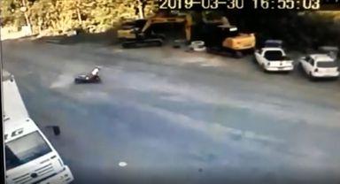 Vídeo mostra sequencia de acidentes em trecho em obras da Caetano Branco