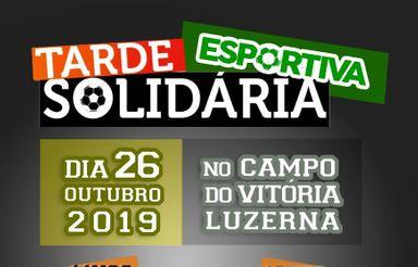 Tarde Esportiva Solidária será realizada em Luzerna