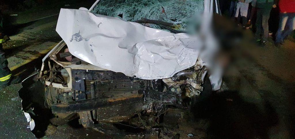 Dois homens morrem em acidente na BR 282 em Catanduvas