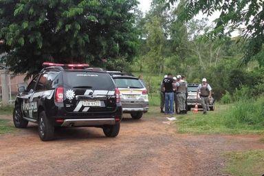 BM e Polícia Civil foram acionadas após a chacina Alex Azeredo / Arquivo Pessoal