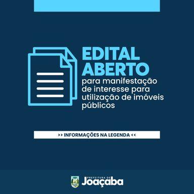 Prefeitura de Joaçaba abre Edital de Chamamento para manifestação de interesse para utilização de imóveis públicos