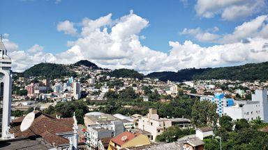Vista de Joaçaba e Herval. (Foto: Portal Éder Luiz)