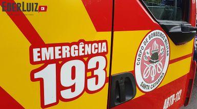 Moto bate contra bovino em Lacerdópolis