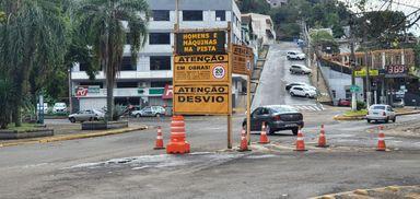 Começam as obras de recuperação da SC entre Joacaba e Luzerna