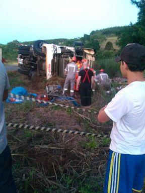 Motorista morre em acidente entre Treze Tílias e Água Doce