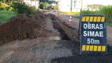 Empresa abandona obras em ruas de Joaçaba e moradores sofrem com transtornos