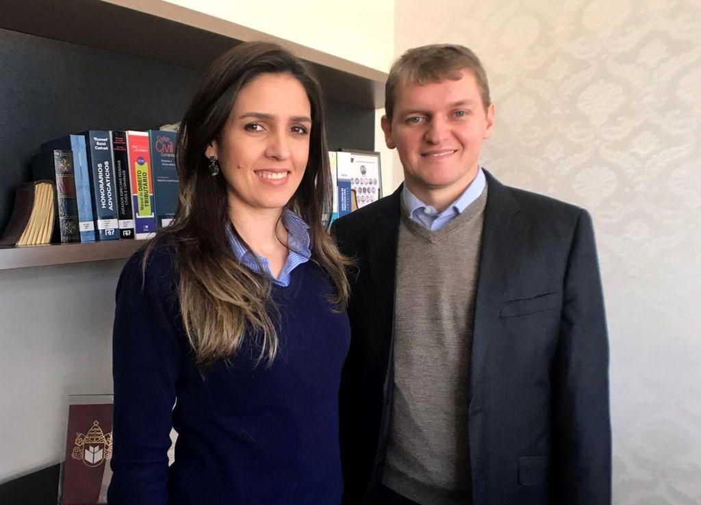 Danielle e Thiago Canal são os jovens Joaçabenses pioneiros em Arbitragem Online no sul do Brasil.