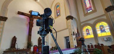 Assista a Missa do Domingo de Ramos