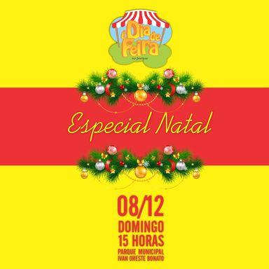 """Neste domingo tem Ediçaõ do """"É dia de Feira"""" no parque Central de Joaçaba"""