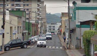 Rua Santos Dumont no trecho que será alterado
