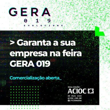 Empresas multinacionais confirmam participação na Feira GERA 019