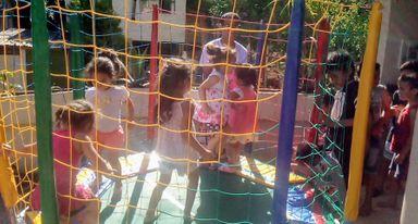 Vila Cachoeirinha realizou uma festa especial ao Dia das Crianças