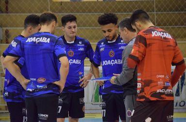 Joaçaba Futsal enfrenta o Tubarão neste sábado pela Série Ouro