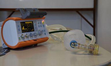 Enercan e Baesa doam ventilador pulmonar portátil para o HUST