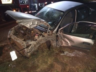 Vítima fica em estado grave após acidente com motorista embriagado na SC-155