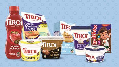 Produtos Tirol marcam presença entre as marcas mais lembradas  pelos varejistas brasileiros