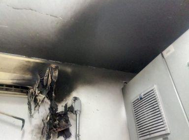 Corpo de Bombeiros atende princípio de incêndio no frigorífico Aurora