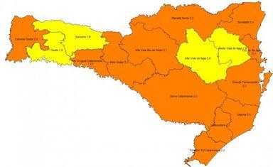 Região Meio-Oeste mantém classificação grave para Covid-19