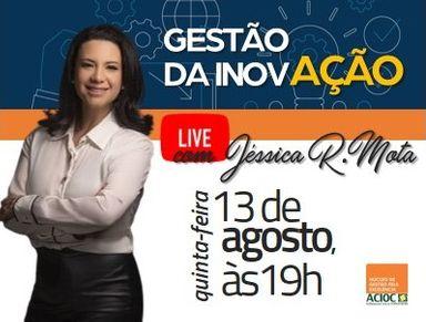 NGE da ACIOC promove live gratuita e apresentação de case sobre inovação