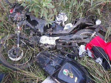 Motociclista morre em acidente na SC-120