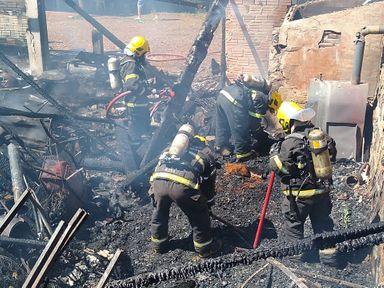 Criança morre carbonizada em incêndio no interior de Videira