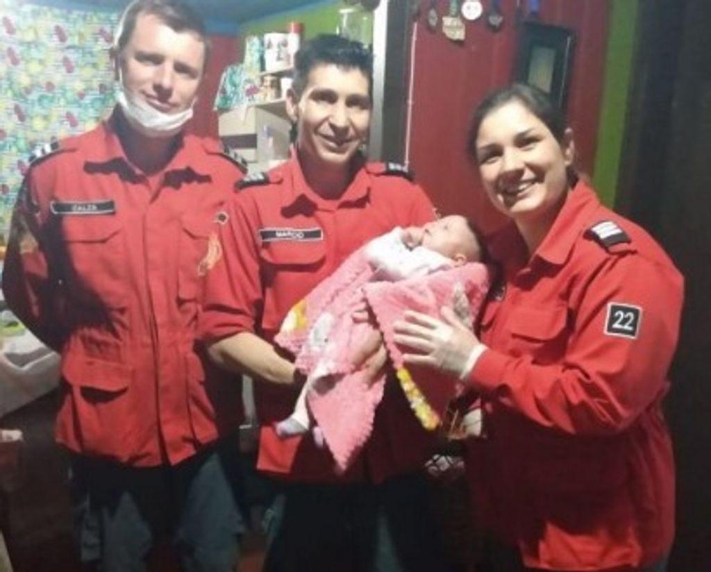 Criança de três meses é salva pelos bombeiros de Irani