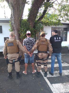 Operação conjunta prende homem por tráfico de drogas em Herval