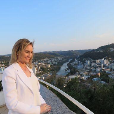 Vereadora mais votada de Joaçaba é novidade na política do município