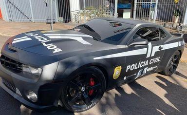 Camaro de R$ 130 mil começa a ser usado pela Polícia Civil em operações