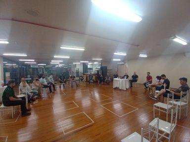 Reunião foi realizada na noite de terça-feira (20) /Foto Divulgação.