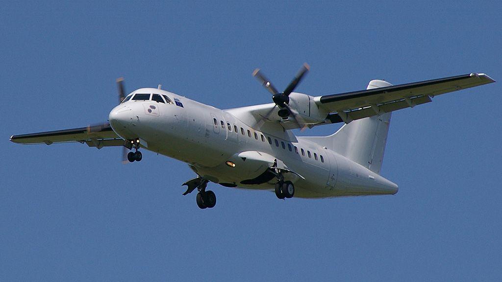 ATR 42, de porte médio e maior capacidade de transporte de passageiros poderá operar