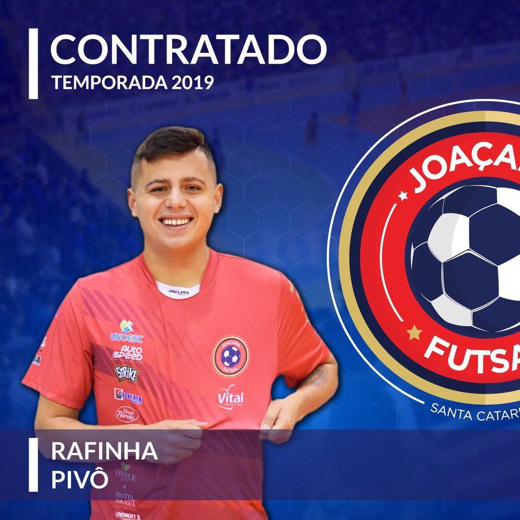 Joaçaba Futsal contrata o pivô Rafinha