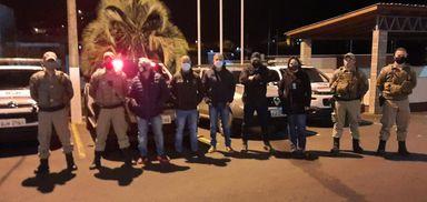 Força-tarefa realiza fiscalização em estabelecimentos em Joaçaba