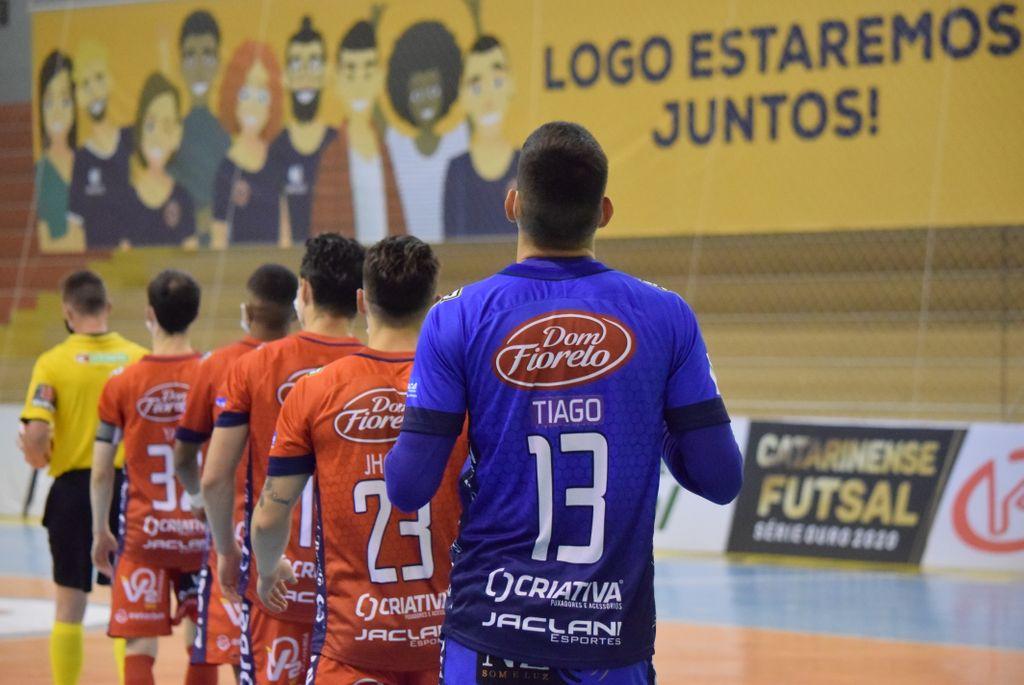 Sem público há um ano, Joaçaba Futsal busca alternativas para minimizar impactos da pandemia