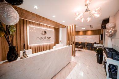 A Clínica Odontológica NeoLaz, localizada na Avenida Santa Teresinha, 136, Centro (Fotos: Levi Garcia)