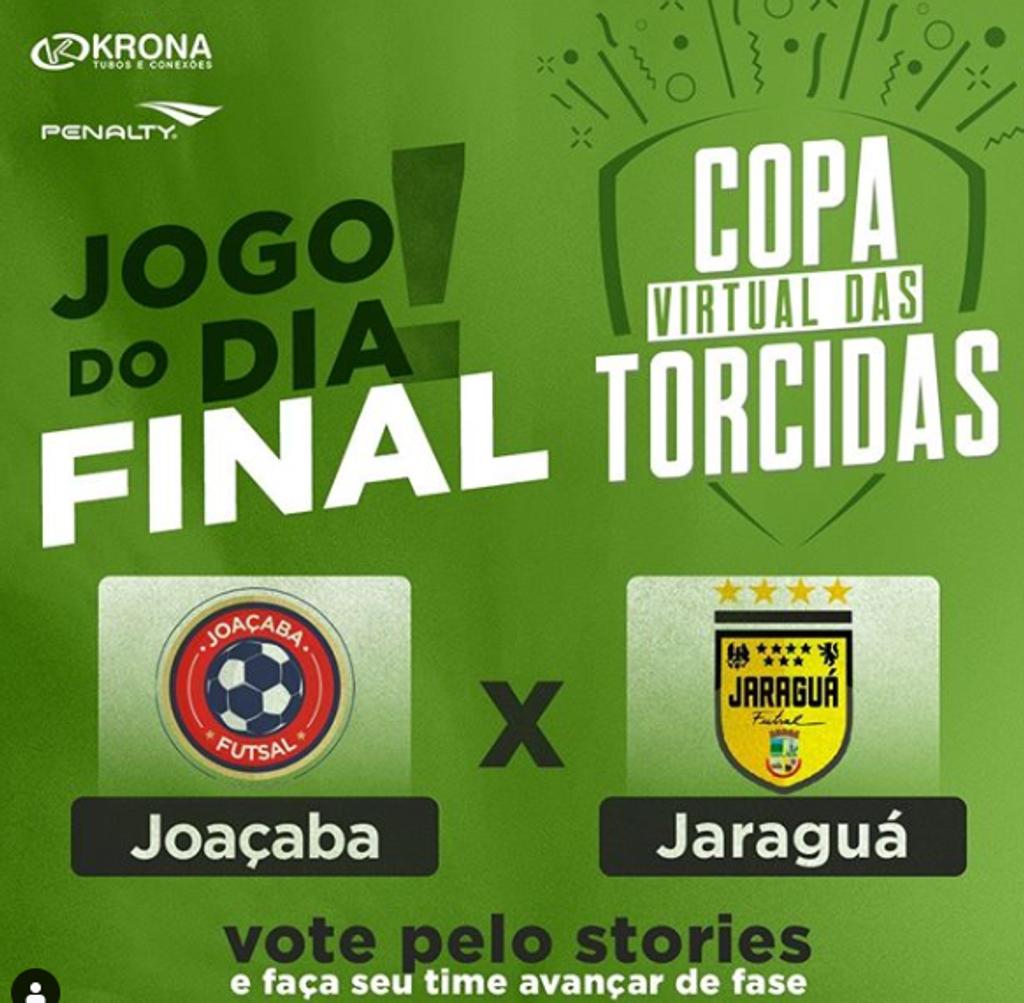 Joaçaba Futsal está na final da Copa Virtual das Torcidas