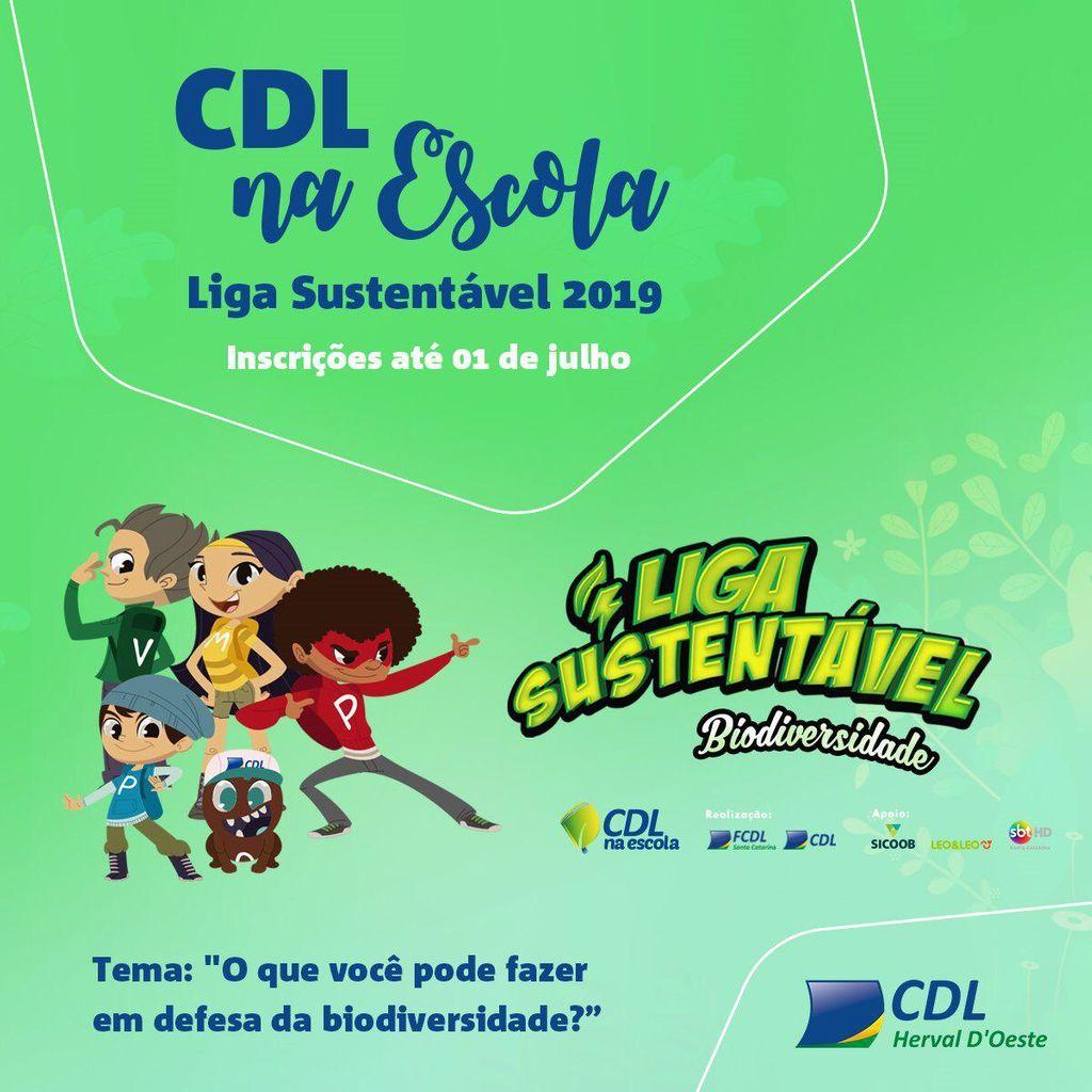 CDL na Escola com a Liga Sustentável envolve alunos da rede pública em novo concurso