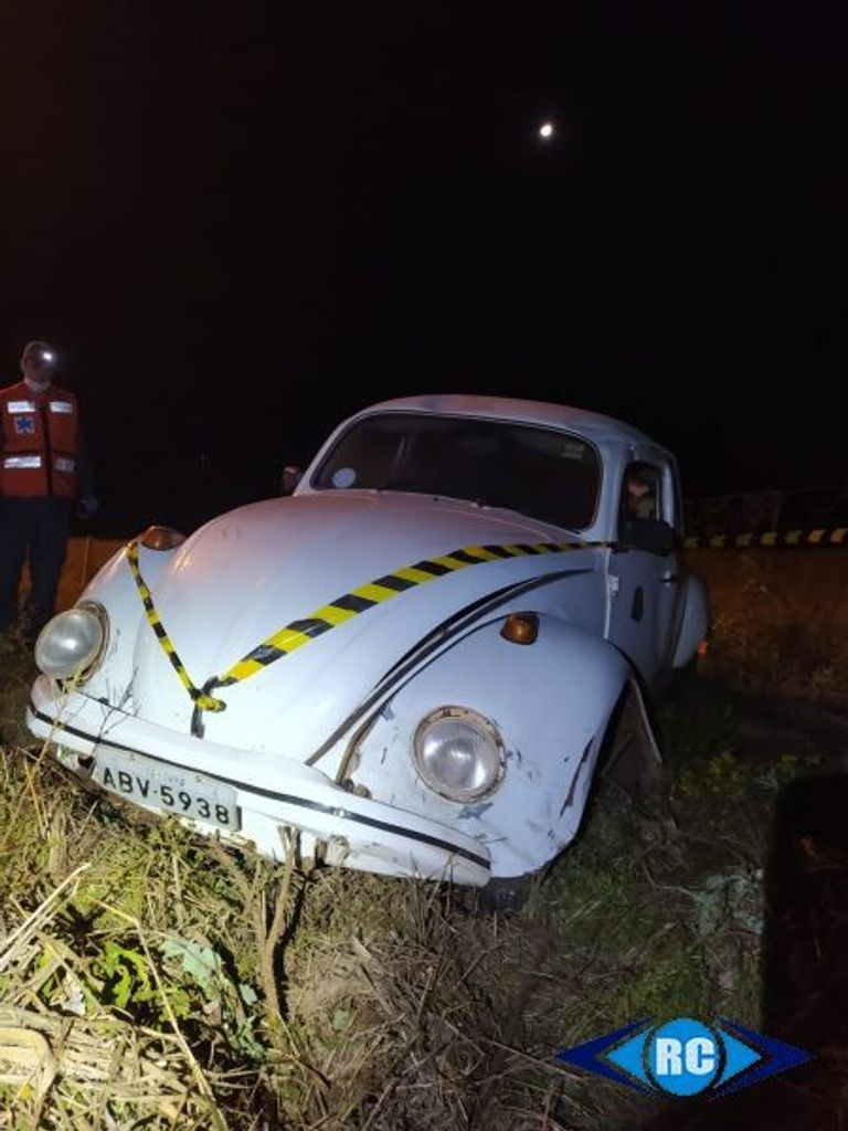Saída de pista com danos materiais é registrada no Contorno Viário em Capinzal