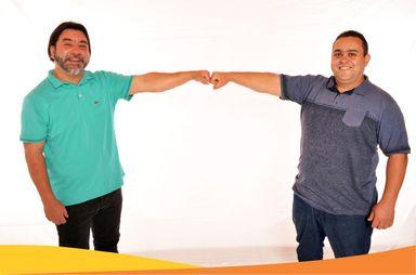 """Pedrinho e Léo Esquadrias são os candidatos à majoritária pela coligação """"Mais Herval"""""""