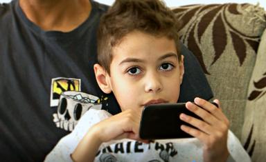 Benjamin Magalhães, de 7 anos – Reprodução/RICTV