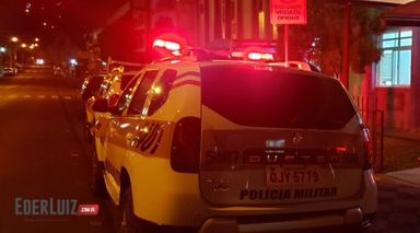 Confusões e brigas atendidas pela PM em Joaçaba e Herval