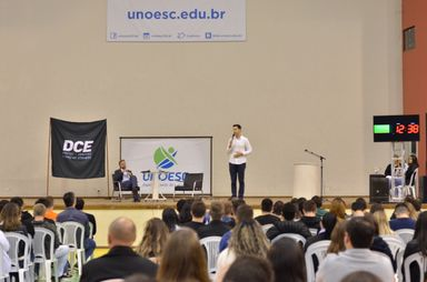 Reforma da Previdência é tema de debate promovido pelo DCE da Unoesc