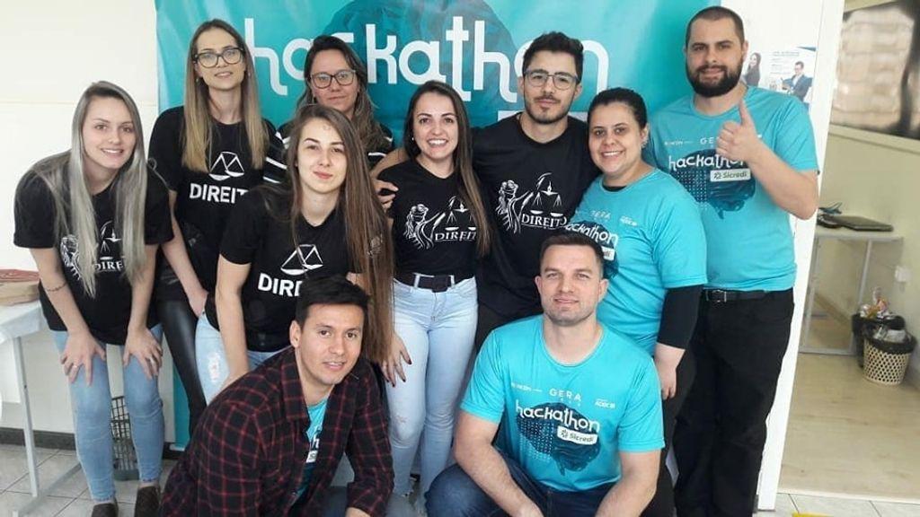Chapecó recebeu etapa do Hackathon Sicredi