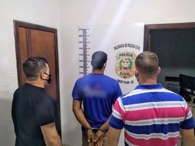 Homem investigado por estupro de vulnerável em Treze Tílias é preso