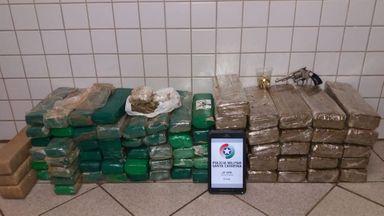 Polícia prende investigado no caso dos 67 quilos de maconha encontrados em Erval Velho